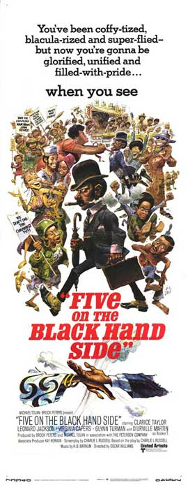 Five on the Black Hand Side - 14 x 36 Movie Poster - Insert Style A
