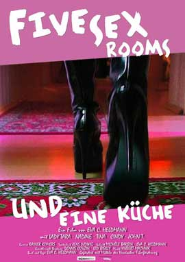 Five Sex Rooms und eine Kuche - 11 x 17 Movie Poster - German Style A