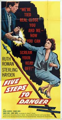 Five Steps to Danger - 20 x 40 Movie Poster - Style A