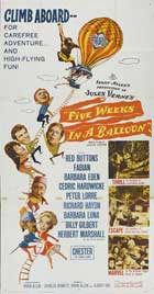 Five Weeks in a Balloon - 20 x 40 Movie Poster - Style A