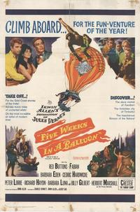 Five Weeks in a Balloon - 11 x 17 Movie Poster - Style A