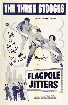 Flagpole Jitters - 11 x 17 Movie Poster - Style A