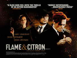Flame and Citron - 11 x 17 Movie Poster - Style A