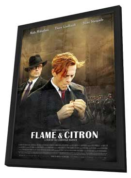 Flame and Citron - 11 x 17 Movie Poster - Style B - in Deluxe Wood Frame