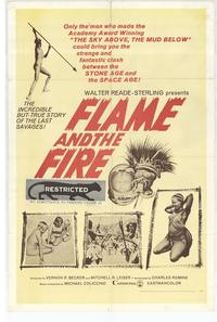 Flame and the Fire - 11 x 17 Movie Poster - Style A
