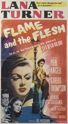 Flame and The Flesh - 27 x 40 Movie Poster - Style A