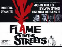 Flame in the Streets - 11 x 14 Movie Poster - Style A