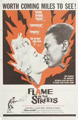 Flame in the Streets - 11 x 17 Movie Poster - Style A