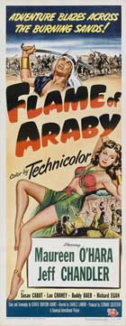Flame of Araby - 14 x 36 Movie Poster - Insert Style A