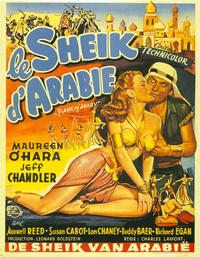 Flame of Araby - 11 x 17 Movie Poster - Belgian Style A