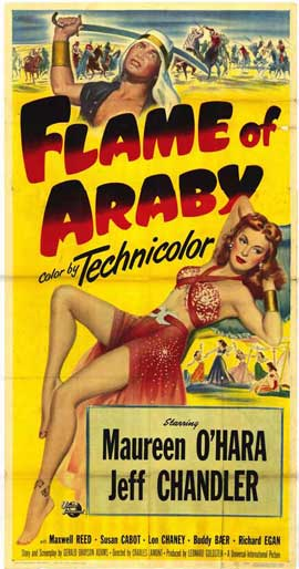 Flame of Araby - 11 x 17 Movie Poster - Style A