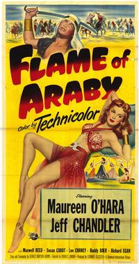 Flame of Araby - 43 x 62 Movie Poster - Bus Shelter Style A