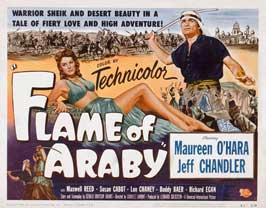 Flame of Araby - 11 x 14 Movie Poster - Style A