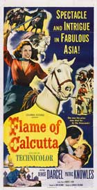 Flame of Calcutta - 20 x 40 Movie Poster - Style A