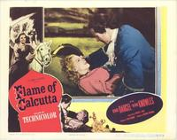 Flame of Calcutta - 11 x 14 Movie Poster - Style B