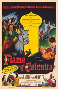 Flame of Calcutta - 43 x 62 Movie Poster - Bus Shelter Style A