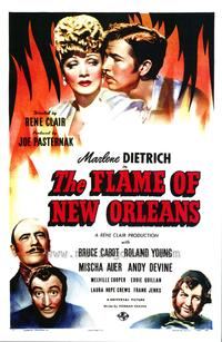 The Flame of New Orleans - 43 x 62 Movie Poster - Bus Shelter Style A
