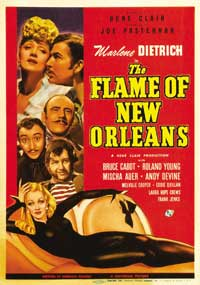 The Flame of New Orleans - 11 x 17 Movie Poster - Style B