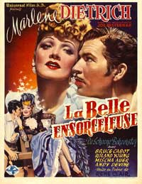 The Flame of New Orleans - 27 x 40 Movie Poster - Belgian Style A