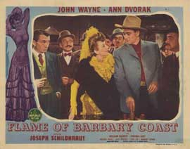 Flame of the Barbary Coast - 11 x 14 Movie Poster - Style D