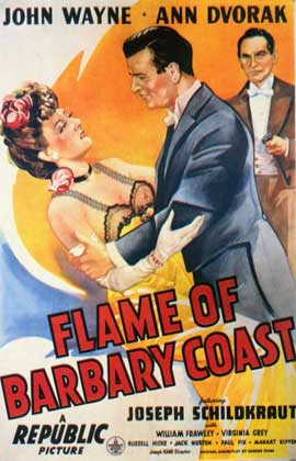 Flame of the Barbary Coast - 11 x 17 Movie Poster - Style A