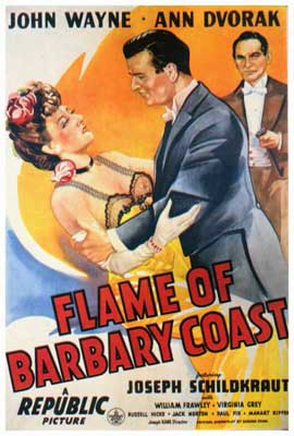Flame of the Barbary Coast - 27 x 40 Movie Poster - Style A