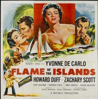 Flame of the Islands - 40 x 40 - Movie Poster - Style A