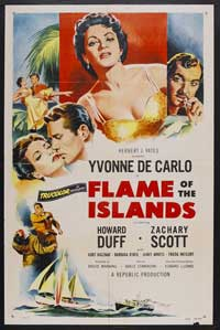 Flame of the Islands - 11 x 17 Movie Poster - Style A