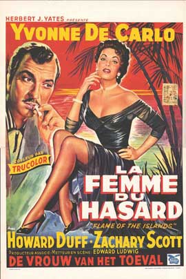 Flame of the Islands - 11 x 17 Movie Poster - Belgian Style A