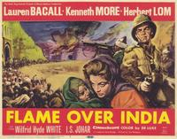 Flame Over India - 11 x 14 Movie Poster - Style A