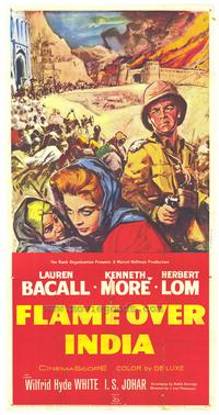 Flame Over India - 11 x 17 Movie Poster - Style A