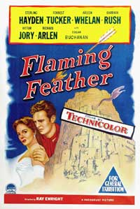 Flaming Feather - 11 x 17 Movie Poster - Style A