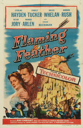 Flaming Feather - 27 x 40 Movie Poster - Style B