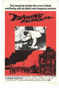 Flaming Frontier - 11 x 17 Movie Poster - Style A