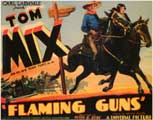 Flaming Guns - 11 x 14 Movie Poster - Style A