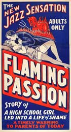 Flaming Passion - 11 x 17 Movie Poster - Style A