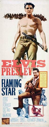 Flaming Star - 14 x 36 Movie Poster - Insert Style A