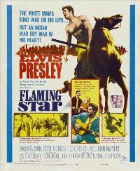 Flaming Star - 27 x 40 Movie Poster - Style B