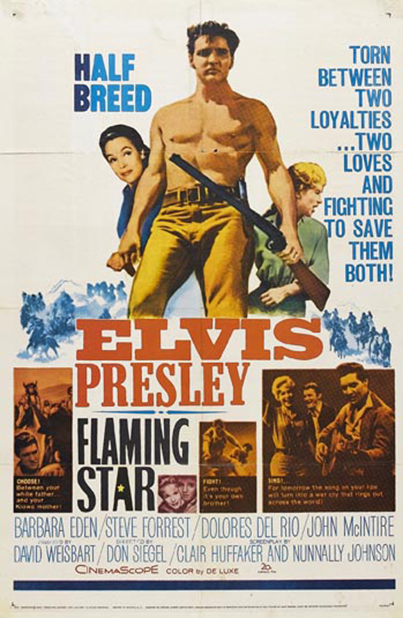 Flaming Star Movie Posters From Movie Poster Shop