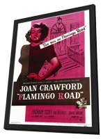 Flamingo Road - 11 x 17 Movie Poster - Style A - in Deluxe Wood Frame