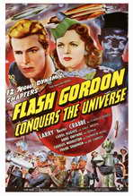 Flash Gordon Conquers the Universe - 27 x 40 Movie Poster - Style A