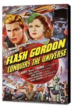 Flash Gordon Conquers the Universe - 11 x 17 Movie Poster - Style A - Museum Wrapped Canvas