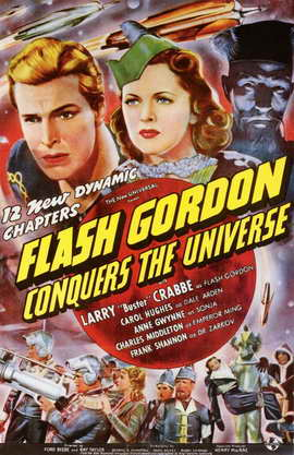 Flash Gordon Conquers the Universe - 11 x 17 Movie Poster - Style A