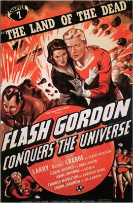 Flash Gordon Conquers the Universe - 11 x 17 Movie Poster - Style B