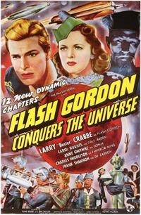 Flash Gordon Conquers the Universe - 43 x 62 Movie Poster - Bus Shelter Style A