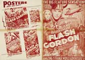 Flash Gordon - 43 x 62 Movie Poster - Bus Shelter Style B