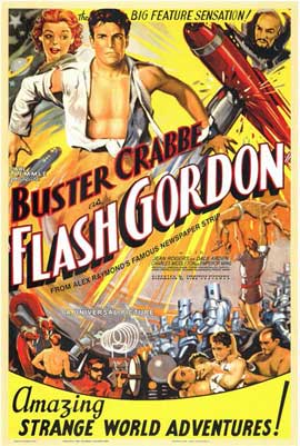 Flash Gordon - 11 x 17 Movie Poster - Style B