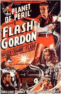Flash Gordon - 43 x 62 Movie Poster - Bus Shelter Style A