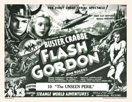 Flash Gordon - 11 x 14 Movie Poster - Style E