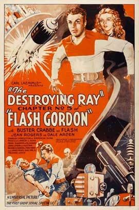 Flash Gordon - 27 x 40 Movie Poster - Style B